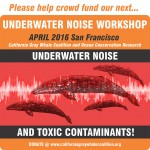 Underwater Noise Workshop April 2016 San Francisco